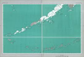 Aleutian Islands Map The National Atlas Of The United States Of America Perry