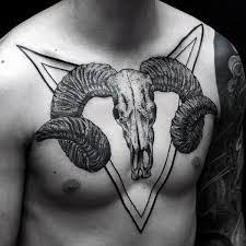 ram skull tattoo meaning 14