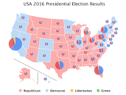 Wisconsin Election Map by Effectively Visualizing Us Election Results Highcharts