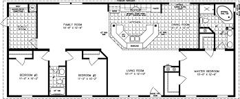 manufactured home floor plan the imperial u2022 model imp 46411b 3