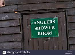Shower Room Door by Anglers Shower Room Door Sign Stock Photo Royalty Free Image