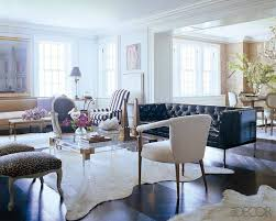 elle home decor an all star home makeover nate berkus elle décor and leather sofas