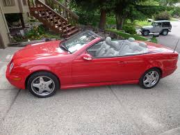 convertible mercedes red help wifey wants a convertible that seats 4 grassroots