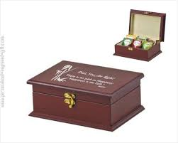 engravable box engraved tea boxes chests organizers