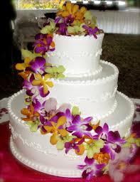 hawaiian themed wedding cakes hawaiian themed wedding