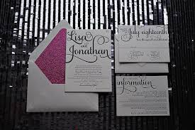 wedding invitations nyc real wedding and jonathan new york city letterpress