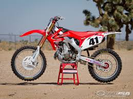 motocross bikes honda trey canard honda crf450r factory motocross bike test photos