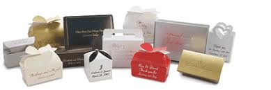 personalized wedding favor boxes wedding favor boxes and cupcake boxes in a variety of colors