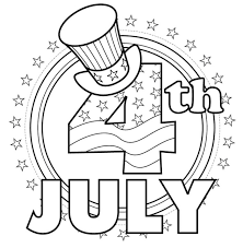 card greeting happy 4th of july coloring kids fourth of july