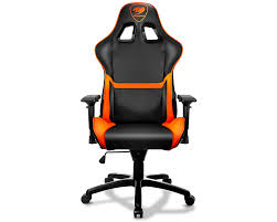 Gaming Chair Leather Cougar Armor Gaming Chair