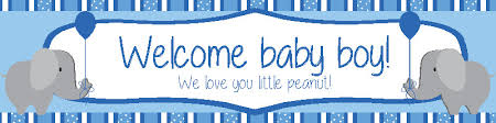 baby shower banners boys baby shower archives diddams party store
