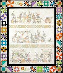halloween table runner pattern the mystery of the salem witches u0027 quilt guild complete pattern