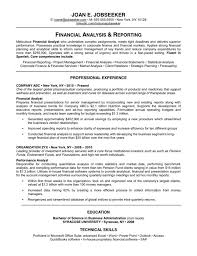 Financial Accountant Resume Sample by Senior Financial Accountant Resume Senior Financial Accountant