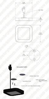 plug and play surface mount square led puck light fixture ssm
