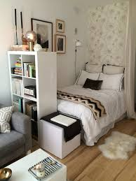 chic and creative studio apartment bed ideas for bedroom best 25