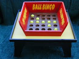 ball bingo try to get five in a row tic tac toe ball try to