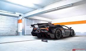 Lamborghini Veneno Black - exclusive photo shoot with the lamborghini veneno roadster gtspirit