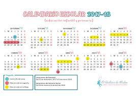 Calendario Diciembre 2018 Calendario Escolar 2017 2018 En La Rioja