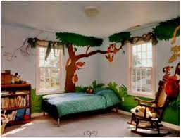 tree wall painting diy room decor for teens rooms kids bathroom