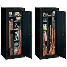 stack on 18 gun convertible gun cabinet stack on 40 gun fire resistant back lit electronic lock safe
