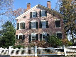 whitewashing exterior brick home design ideas