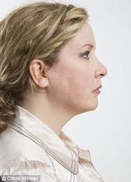 hairstyles for women with sagging necks hate your double chin now you can just vacuum it away finally