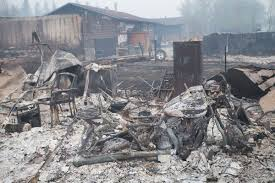 Wildfire Firefighter Jobs Alberta by Scorched Remains Haunting Images From A City Destroyed By Wildfire