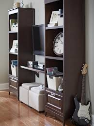 Lowes Shelving Decorating Lowes Storage Unit Furniture Comes With Polished Wooden