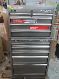 husky 27 in 8 drawer tool chest and cabinet set auction nation auction phoenix tools and contractors supply
