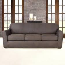 grey loveseat slipcover photo of stretch suede separate seat t