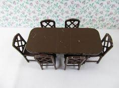 Dollhouse Dining Room Furniture Vintage Renwal Dollhouse Living Room By Forgetmenotvintagetn