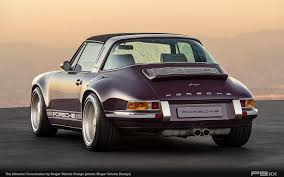 vintage porsche 911 convertible singer atherton is one incredibly purple porsche targa u2013 p9xx
