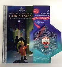 hallmark pole find me santa snowflake light up ornament ebay