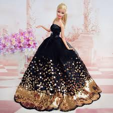amazing black dress with of gold sequins made to fit for the