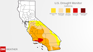california drought map january 2016 california drought recent rains almost ended it cnn
