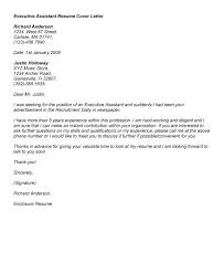 awesome resume cover letter examples for administrative assistants