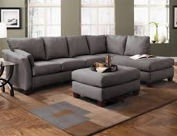 Charcoal Gray Sectional Sofa With Chaise Lounge by Klaussner Drew Two Piece Sectional Sofa With Chaise Wayside