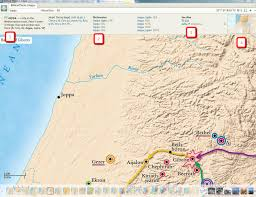 Biblical Map Biblical People Places And Things Logostalk