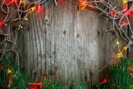 christmas garland with lights colorful christmas garland lights on wooden rustic background