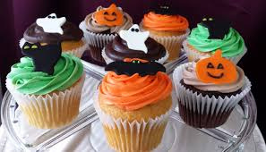 Halloween Baby Shower Cupcakes by Cupcakes Jcakes