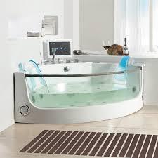 Jetted Tub Bathtubs Appealing Corner Jetted Bathtub 56 Eago Am R White