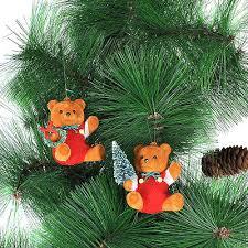 Teddy Bear Christmas Tree Ornaments by Teddy Bear Christmas Tree Decorations Collection On Ebay