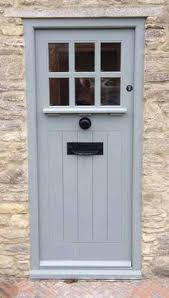 Sapele Exterior Doors Arts And Crafts Door With 6 Panes Of Glass Made From Sapele