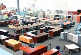 Brilliant Used Office Tables  Housphere - Used office furniture sacramento