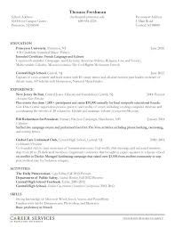 undergraduate resume template resume undergraduate resume template