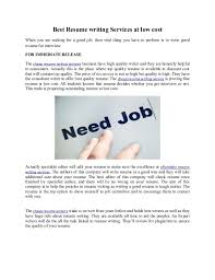 Resume Services Cost Best Resume Writing Service 2017 Free Resume Builder Quotes