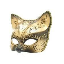 Black Gold Halloween Costumes Gold Black Cat Mask 15 00 Etsy Wedding Party