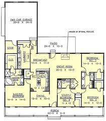 southern style house plan 4 beds 3 00 baths 2188 sq ft plan 44 107