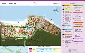 Map Cuba Paradisus Varadero Varadero Transat