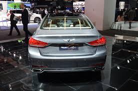 hyundai genesis back 2017 genesis g80 sedan is a rebadged hyundai genesis